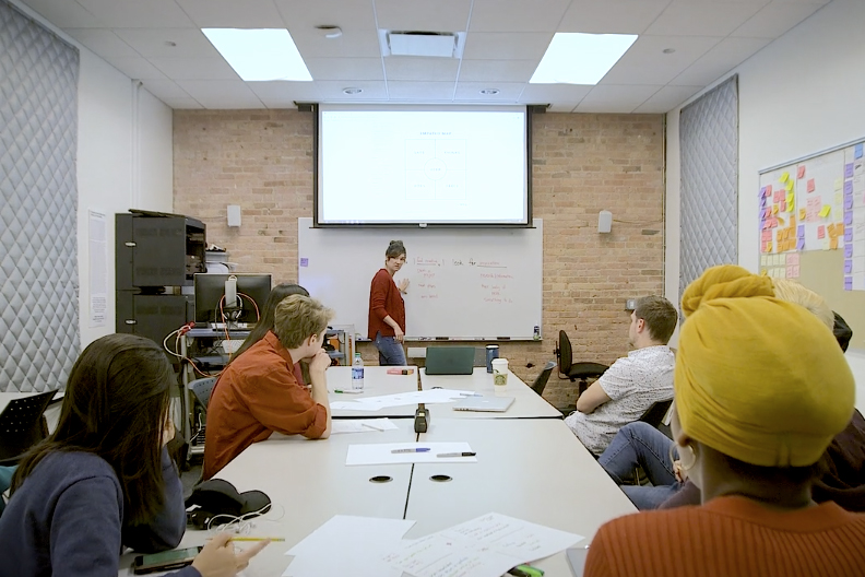 User Experience classroom image