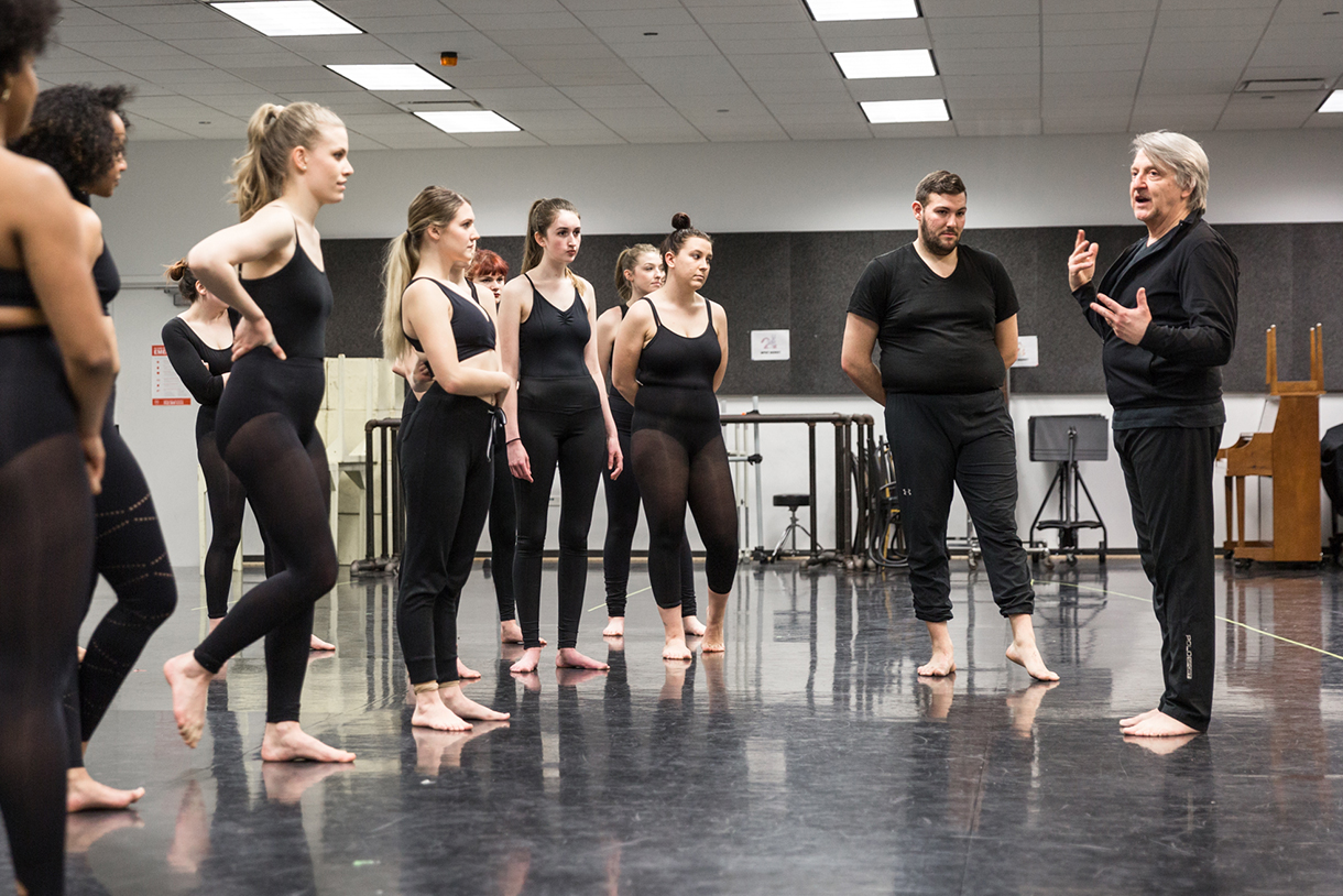 Columbia College Chicago Musical Theatre Master Class with Chet Walker
