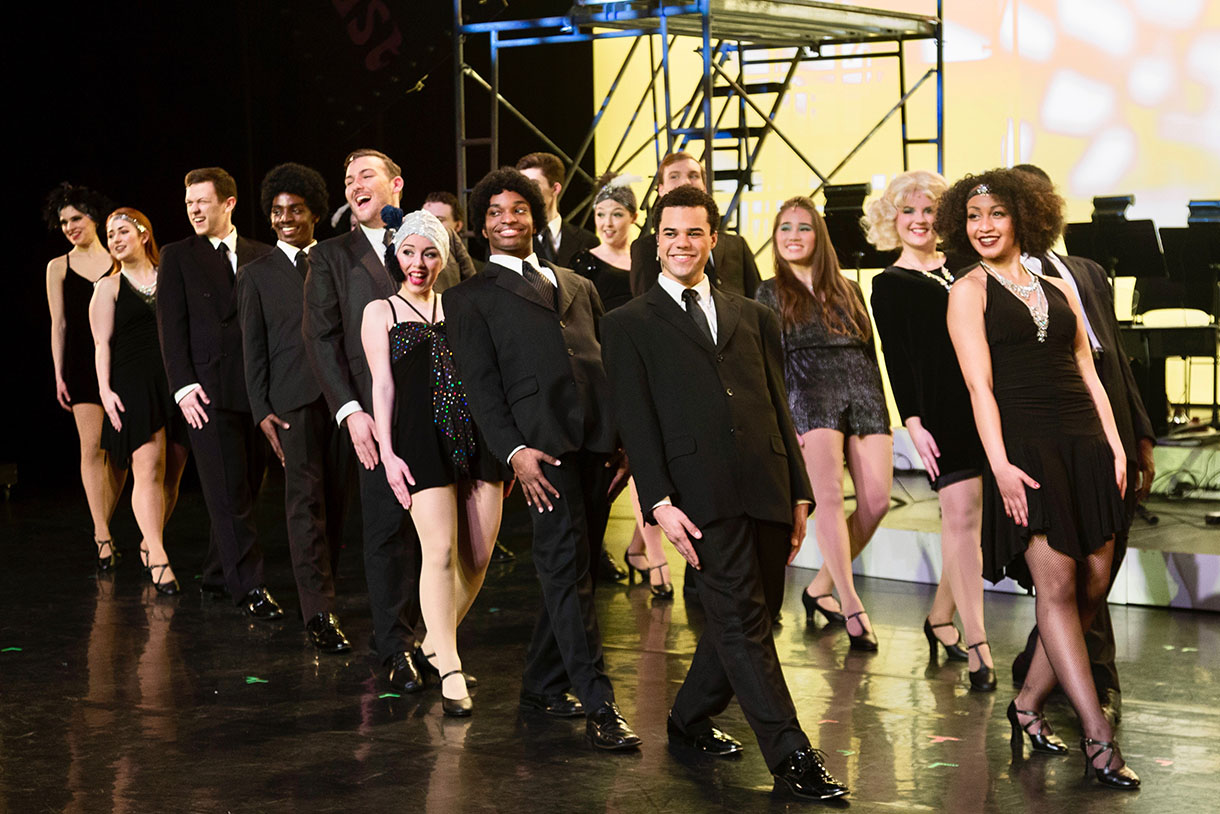 Columbia College Chicago Musical Theatre performance of Sweet Charity