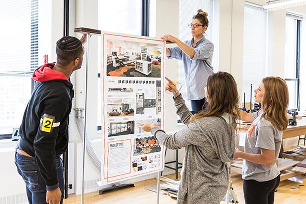 Interior Architecture Degree Program Major Chicago Illinois
