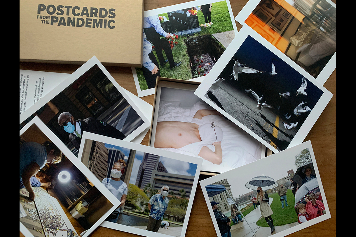 Postacards from the Pandemic, Collaboration between Columbia Photography students and Skylark Editions