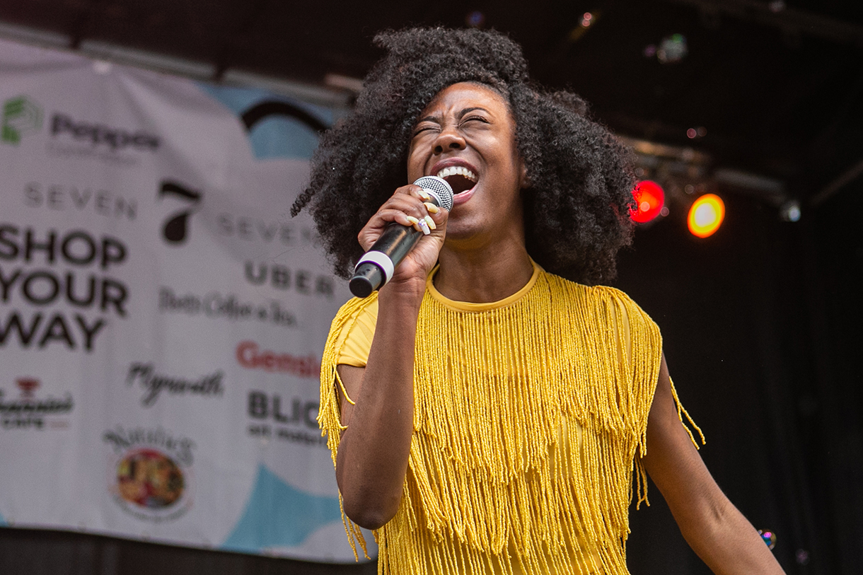 Manifest Urban Arts Festival, 2018. Photo: Alexis Ellers '08