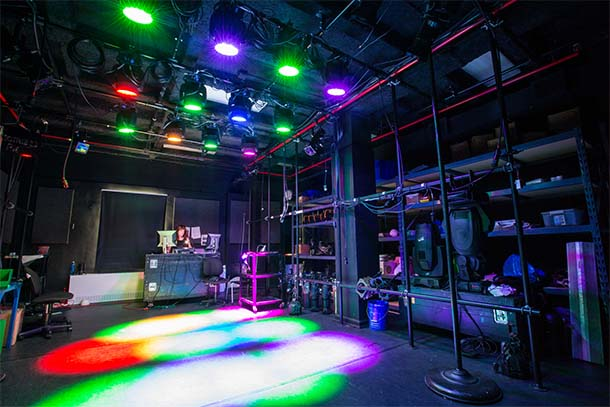 Getz Theater Center Columbia College Chicago Lighting Design Lab