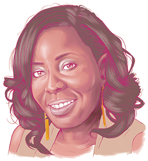 Ayanna Floyd Illustration