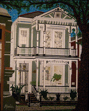 Home on St. Charles Avenue by Stephan Wanger