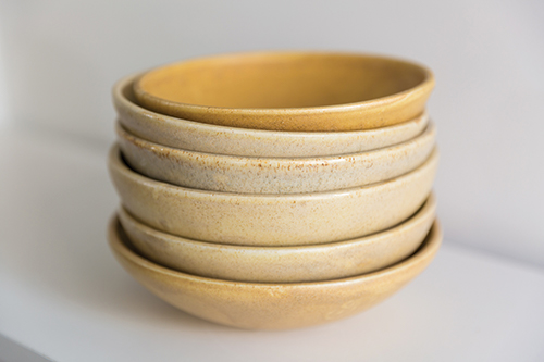 Thurk dining bowls created by Jessica Egan