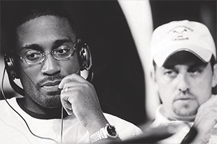 Thumbnail of Robert Teitel '90 and George Tillman Jr. '91
