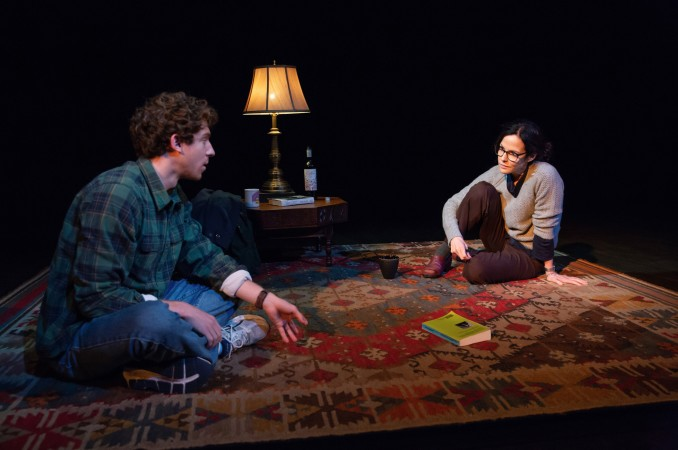 Will Hochman and Mary-Louise Parker in The Sound Inside. Photo: Jeremy Daniel